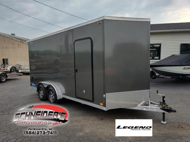 2022 Legend Trailers 7.5X18 THUNDER V-NOSE Enclosed Cargo Trailer