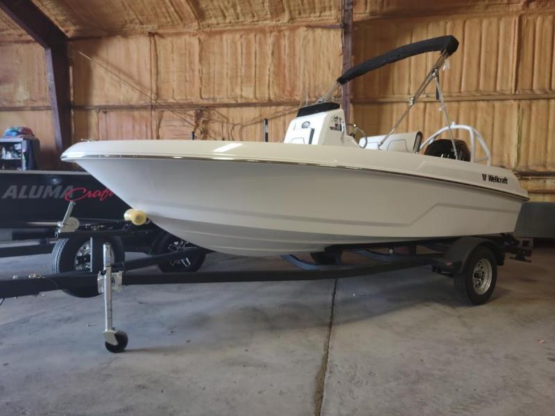2022 Wellcraft 162 Fisherman Center Console