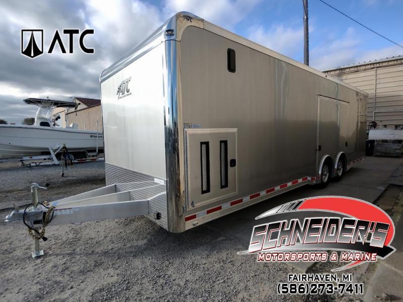 2022 ATC 8.5X28 QUEST DELUXE Car / Racing Trailer
