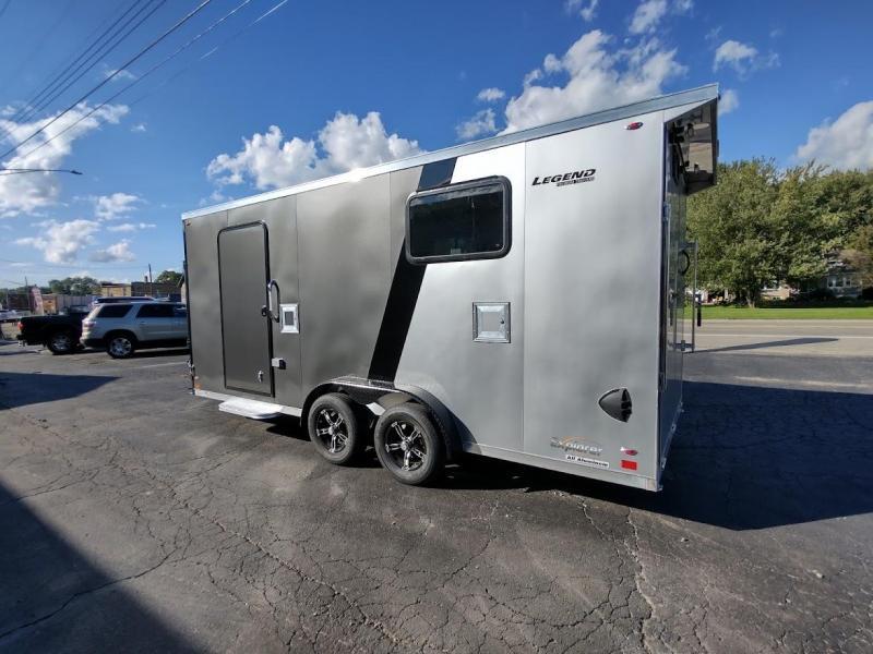 2022 Legend Trailers 7.5X23 EXPLORER Snowmobile Trailer