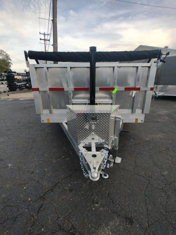 2022 Mission MODP 7x14 DUMP TRAILER Equipment Trailer
