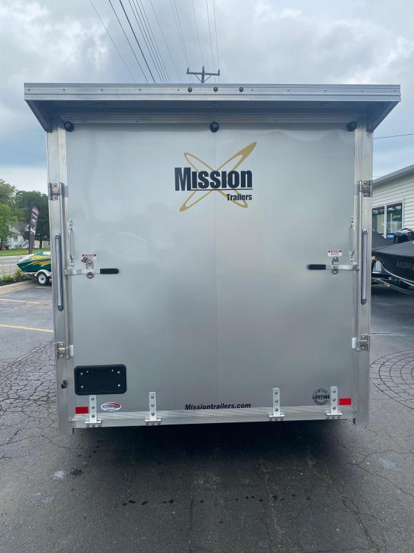 2021 Mission MES 7.5X14 Snowmobile Trailer