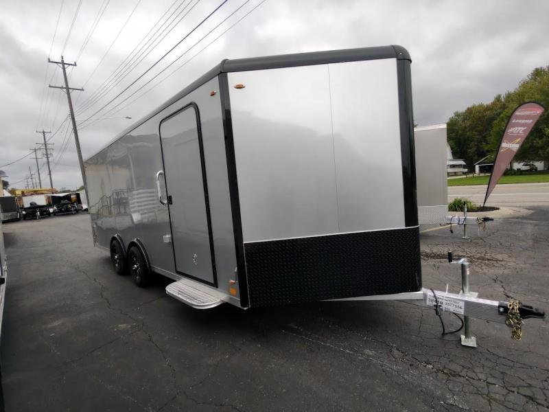 2022 Legend Trailers 8X24 DELUXE SNOWMOBILE Snowmobile Trailer