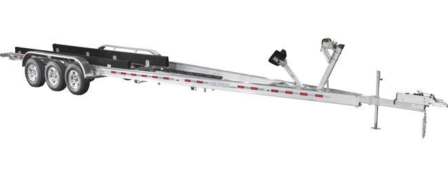 2021 Venture Trailers Aluminum Triple Axle Bunk VATB-18025 Watercraft Trailer