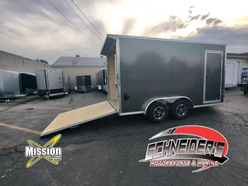 2022 Mission EZEC 7.5X14 Enclosed Cargo Trailer