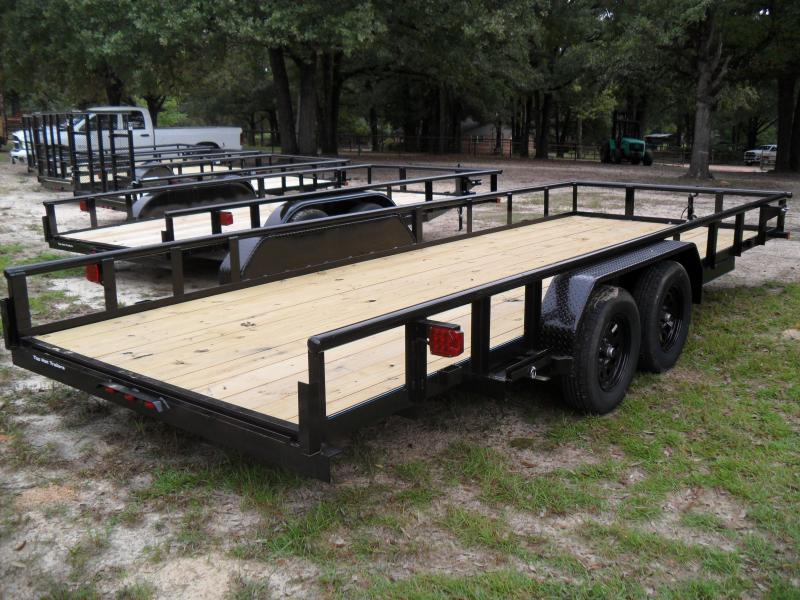"2021 Top Hat Trailers 20' x 83"" HD Pipe Top Utility Trailer"