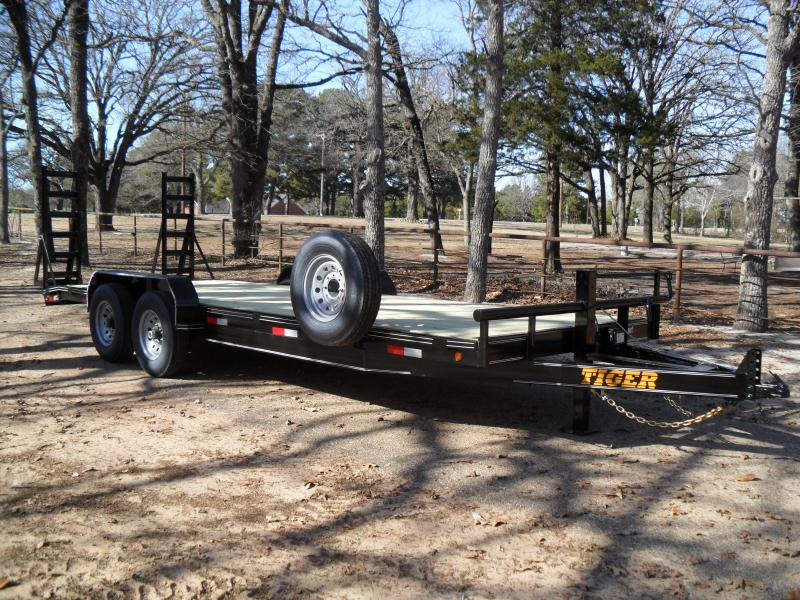 "2021 Tiger 22' x 83"" car hauler/ Equipment Trailer"
