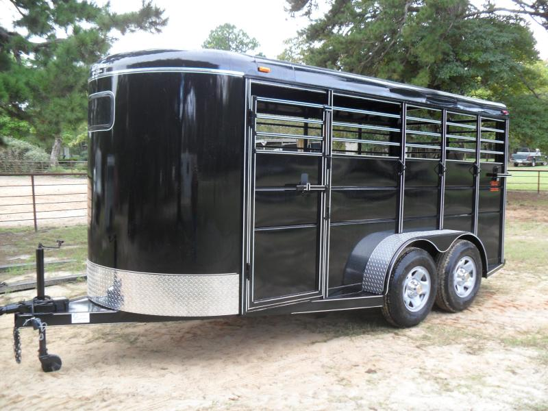 2022 Calico Trailers 16' BP Horse Livestock Trailer