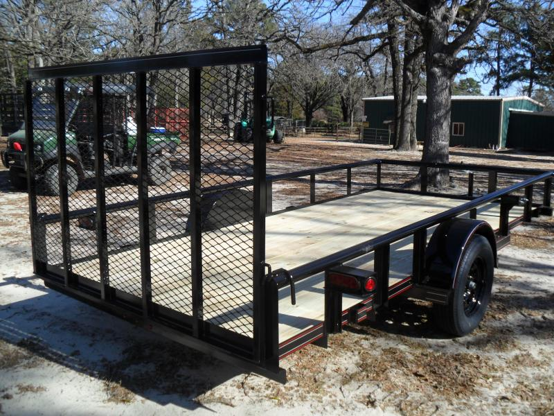 """2021 Other 14' x 77"""" Pipe Top Utility Trailer"""