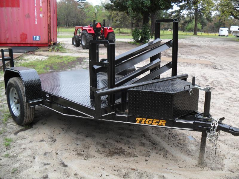 2021 Tiger 5' x 8' Welding Utility Trailer
