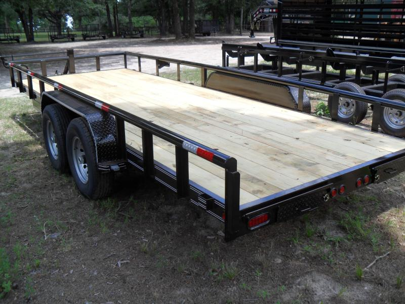 """2021 Tiger 20' x 83"""" HD Pipe top Equipment Trailer"""