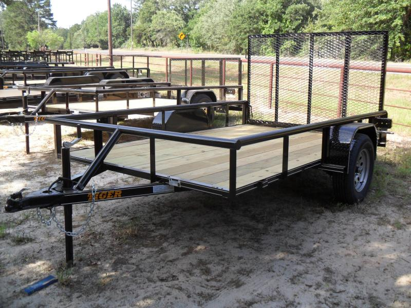 "2021 Tiger 12' X 77"" Pipe top Utility Trailer"