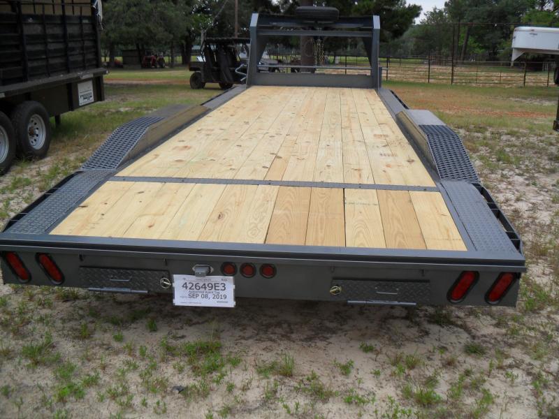 24 x 102 drive over fender Equipment Trailer