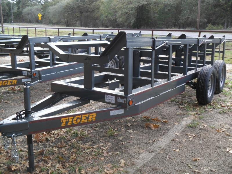 2021 Tiger 3 bale hay hauler farm Livestock Trailer