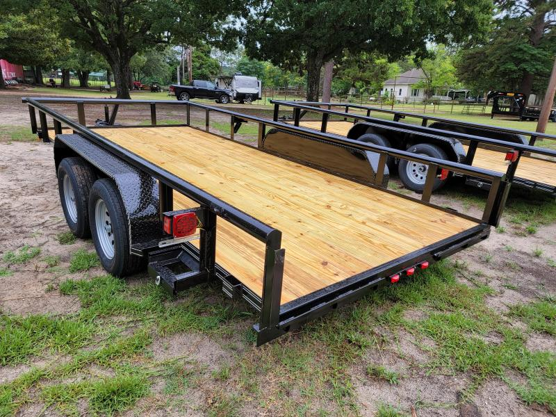 """2021 Tiger 16' x 83"""" Pipe top utility trailer Utility Trailer"""