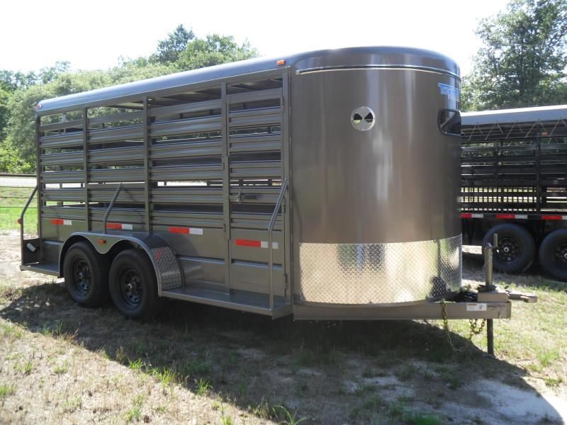 "2020 Top Hat Trailers 16 x 6 x 6'6"" BP Livestock Trailer"