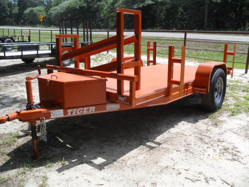 2020 Tiger 5' X 10 Welding Utility Trailer