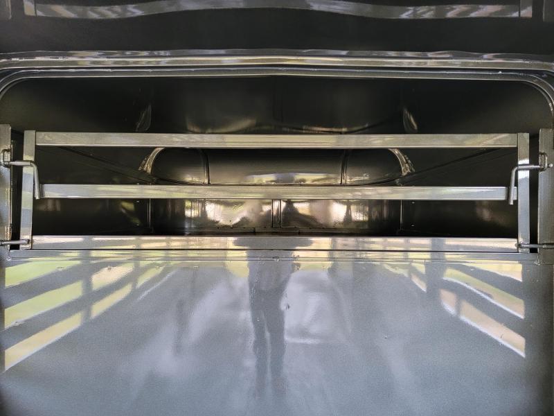 "2022 Calico Trailers 20' x 6'8"" x 6'6"" Metal top Livestock Trailer"