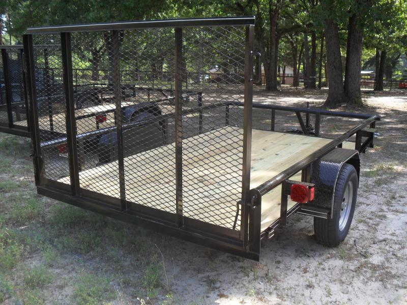 2021 Tiger 10'x 6' pipe top Utility Trailer