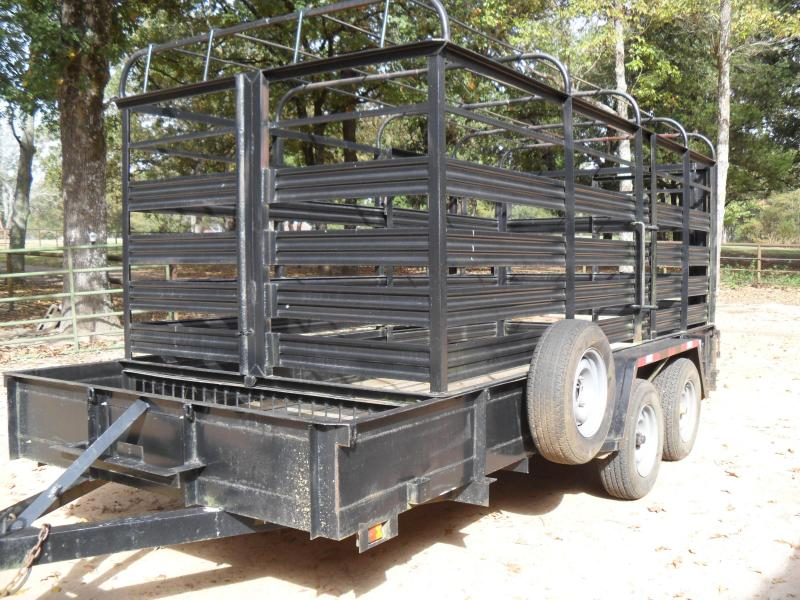 "1992 Other 16 x 77"" Farm Livestock Trailer"