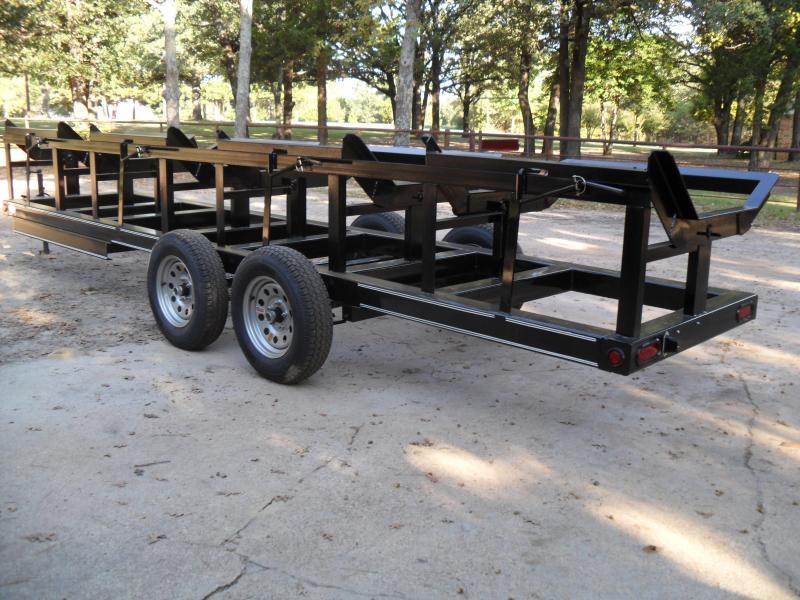 2021 Tiger 4 bale hay hauling Equipment Trailer