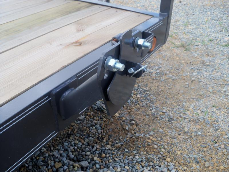 22X083 Load Trail Gray Tandem Axle Carhauler Fold Up RampsCH8322072