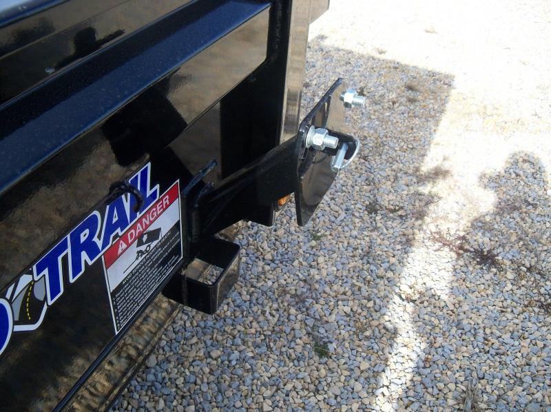 """10X060 Load Trail Black Dump Trailer 18"""" Sides DT6010032"""