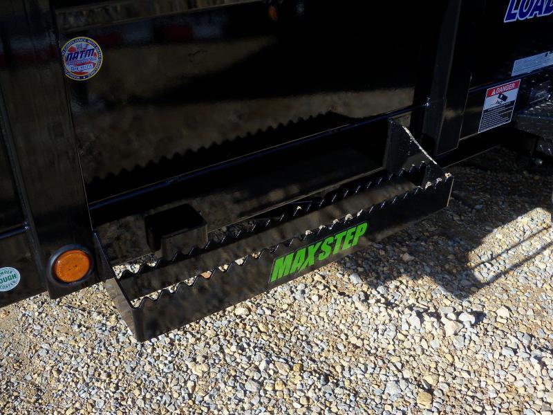 14X083 Load Trail Black Dump Trailer Slide In Ramps DT8314072