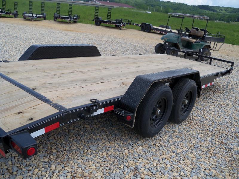 20X083 Load Trail Black Carhauler Slide In Ramps CH8320052