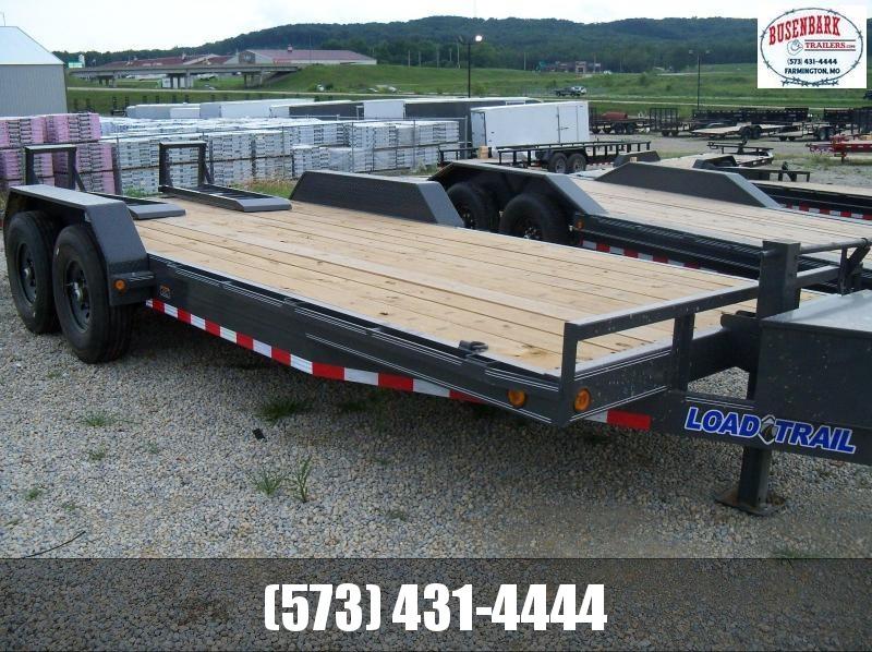 20X083 Load Trail Gray Carhauler Fold Up Ramps CH8320082