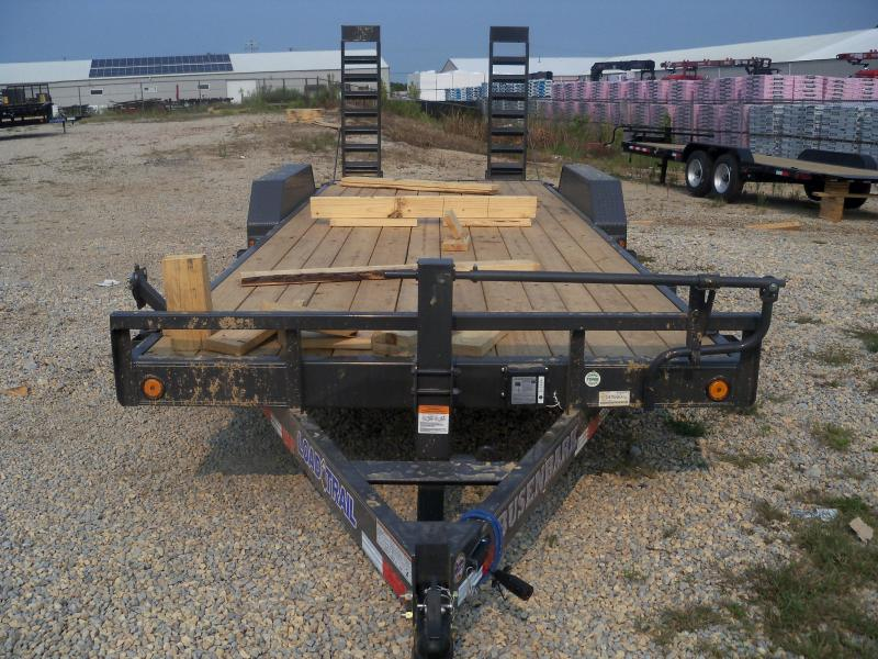 22X083 Load Trail Gray Carhauler Dovetail & Slide In Ramps CH8322072