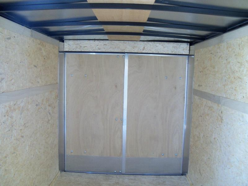 12X072 Look White Enclosed Cargo Trailer LSCAA6.0X12S12FC