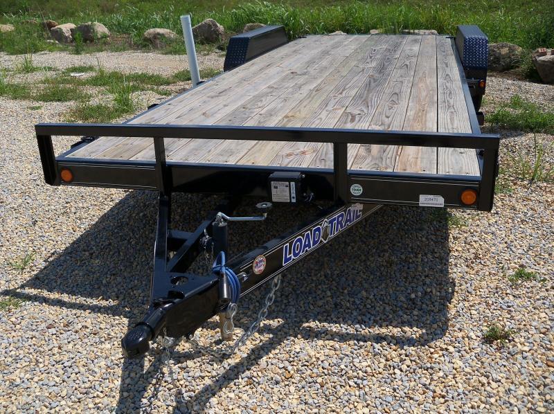 22X083 Load Trail Black Carhauler 2' Dovetail Rear Slide In Ramps CH8322032