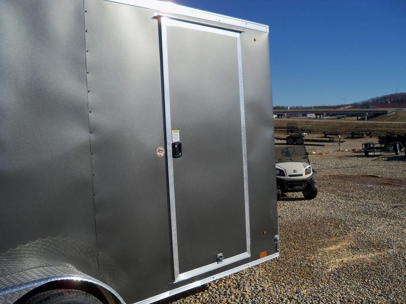 14X084 Look Charcoal Enclosed Cargo Trailer LSCAB7.0X14TE2FF