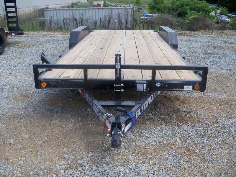 20X083 Load Trail Black Tandem Axle Carhauler Slide In Ramps CH8320052
