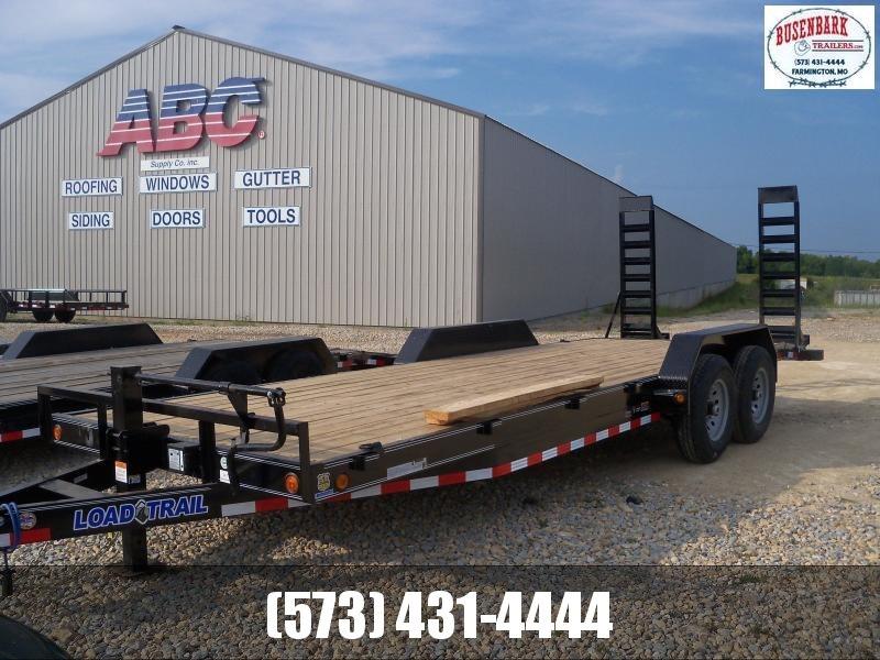 22X083 Load Trail Black Carhauler Fold Up Ramps CH8322072