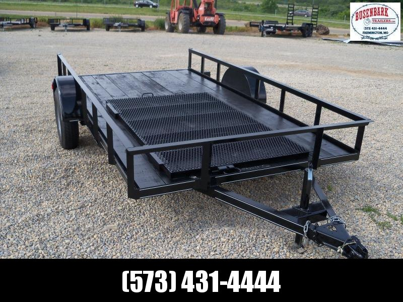 "2020 Other 12'x76"" Utility Single Axle Utility Trailer"