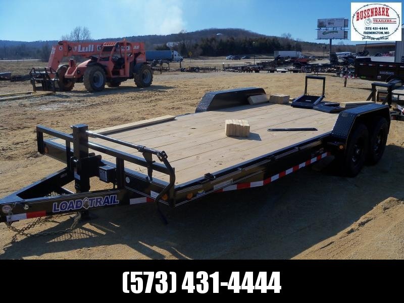 20X083 Load Trail Black Carhauler Fold Up Ramps CH8320072