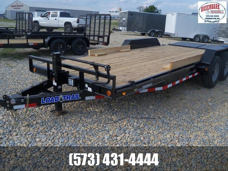 20X083 Load Trail Black Carhauler Max Ramps CH8320072