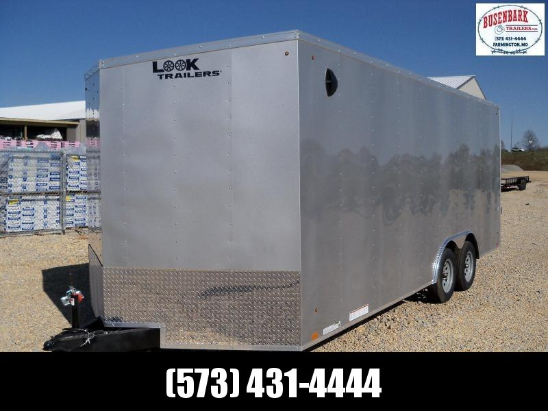 20X102 Look Silver Enclosed Cargo Trailer LSAAB8.5X20TE2FF