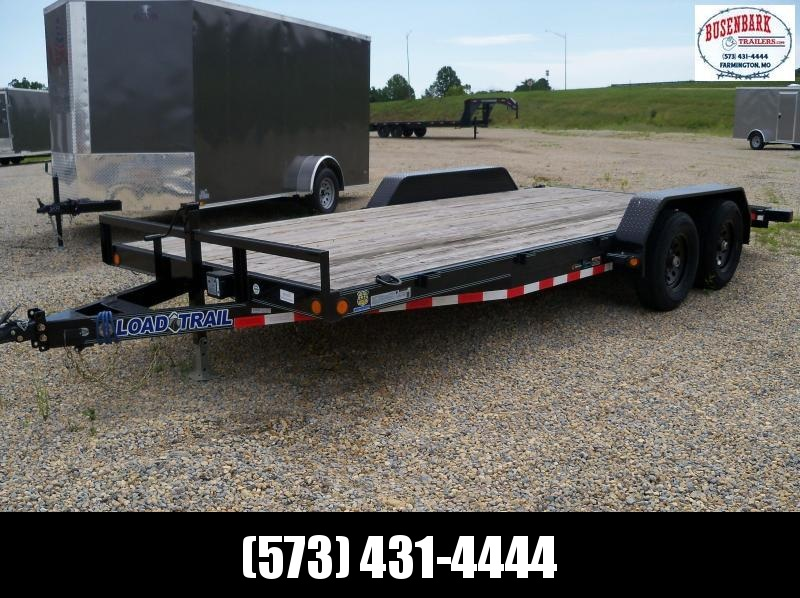 18x083 Load Trail Black Carhauler Slide In Ramps XH8318052