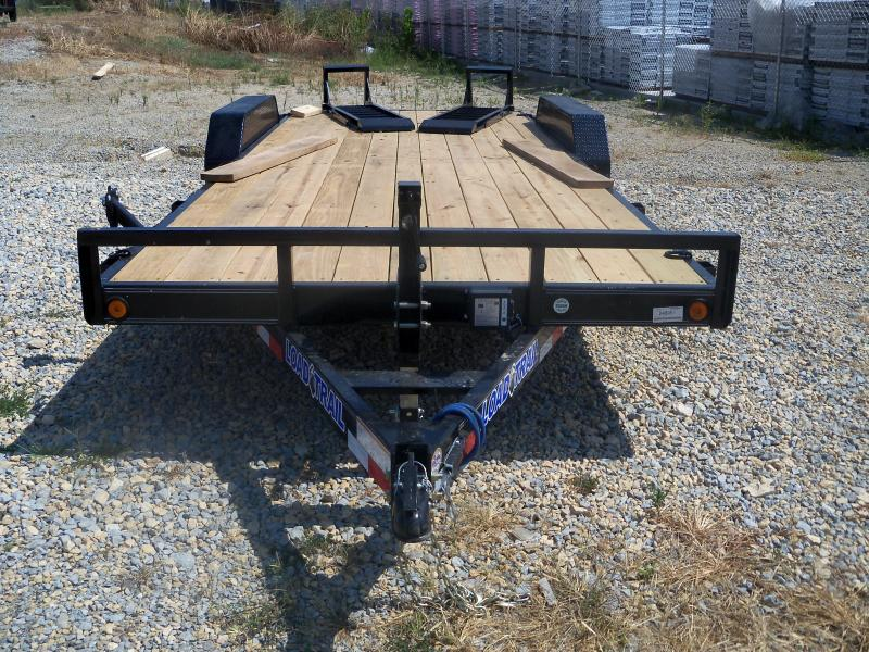 20X083 Load Trail Black Carhauler Fold Up Ramps CH8320052