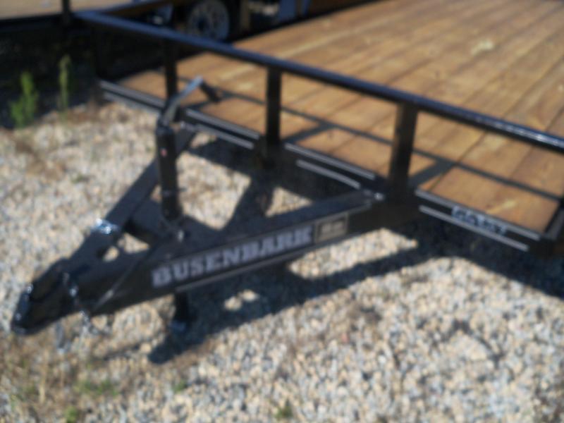 14X077 Busenbark Black TA Utility Trailer UT7714
