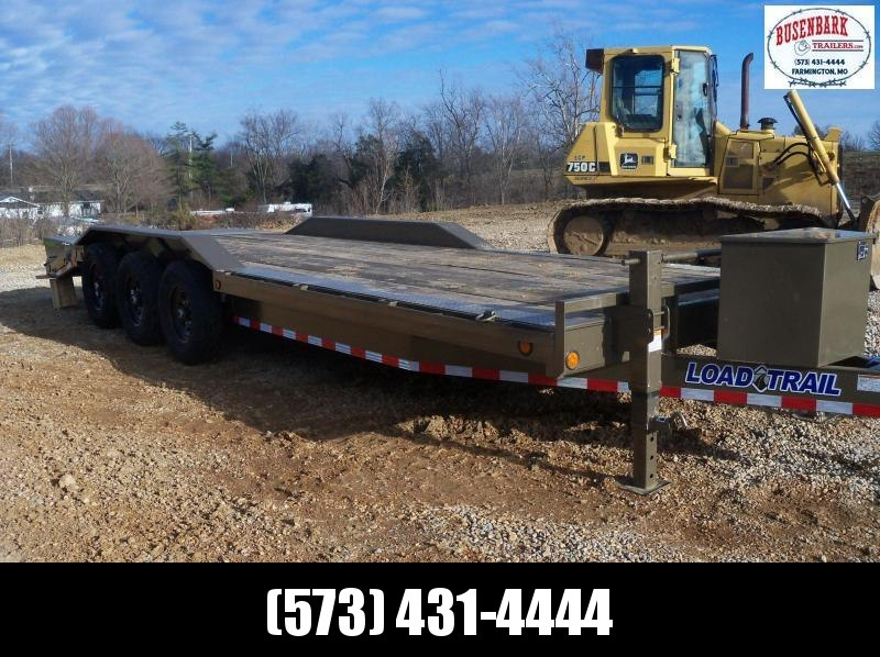 24X102 Load Trail Western Metallic Carhauler 2' Dove CH0224073