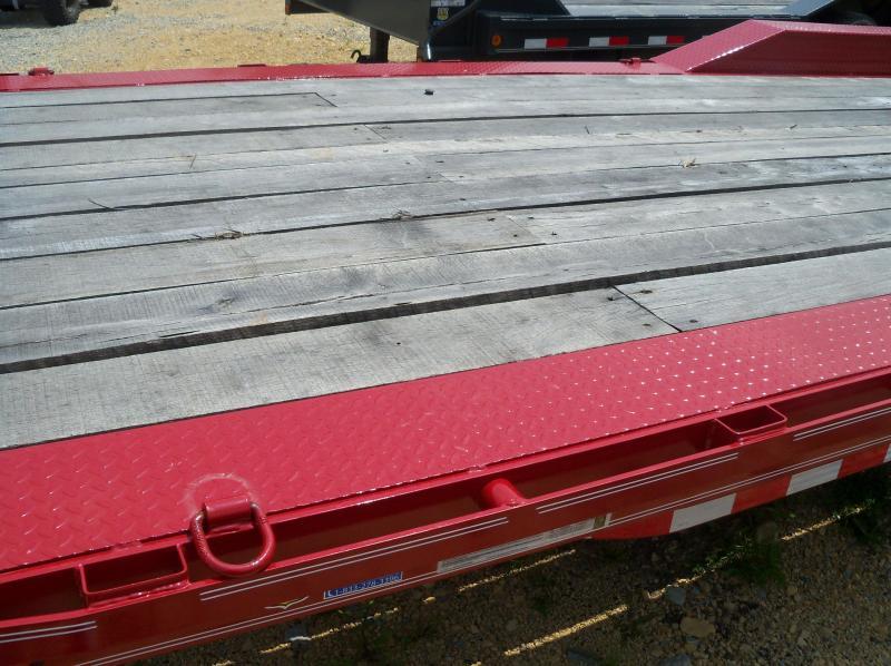 24X102 Load Trail Red Triple Axle Carhauler Max Ramps CH0224073