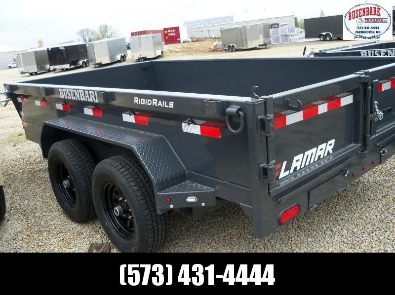 "77""x12' Lamar Charcoal Medium Dump 10k Slide In Ramps DM771225"