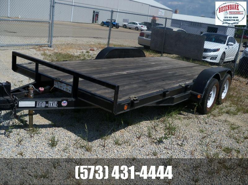16X083 Load Trail Black Carhauler CH8316