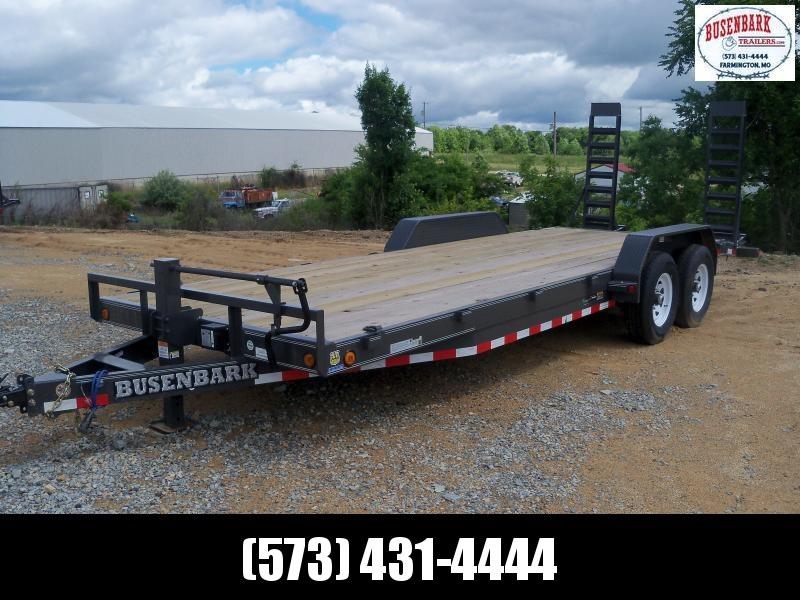22X083 Load Trail Gray Tandem Axle Carhauler Fold Up Ramps CH8322072