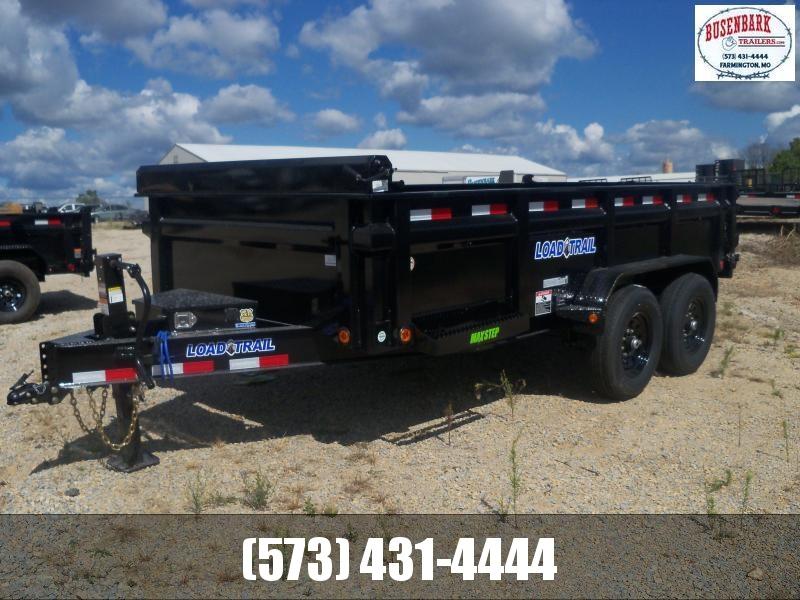 14X083 Load Trail Black Dump Trailer Slide In Ramps Rapid Battery ChargerDT8314072