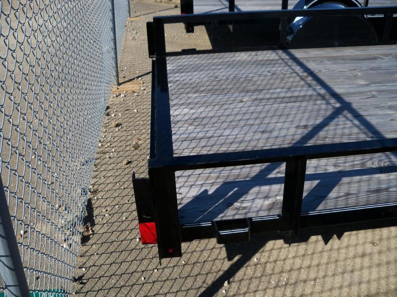 12x077 Lamar Black Classic Utility No Gate UT771213